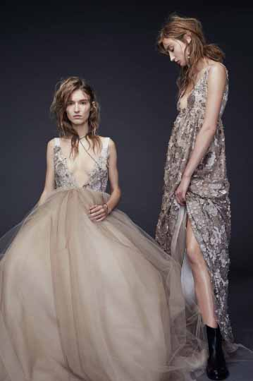 Vera Wang Bridal Fall 2015 Looks 13 and 14